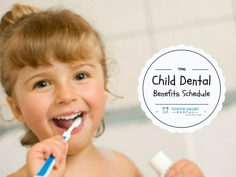 The Child Dental Benefits Schedule