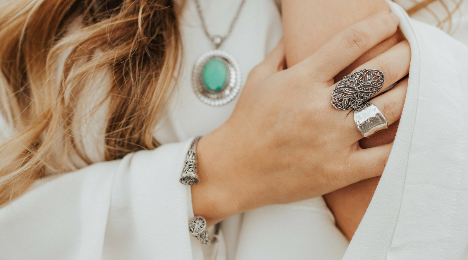 Are you wearing a lot of Silver?